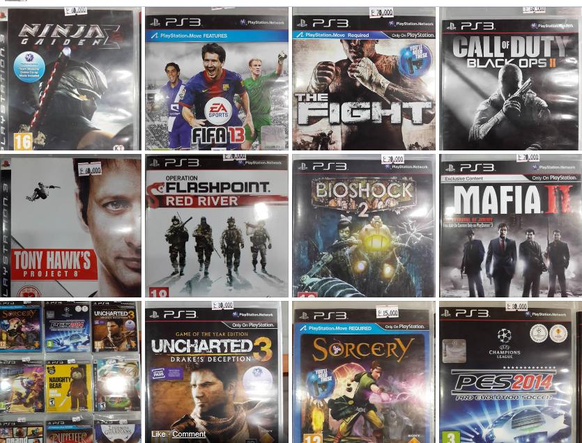GAMES PS3 | تأجير الألعاب بعشرين دولار شهرياً