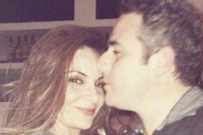 بالصورة | زوج مقدمة برنامج ستار أكاديمي هيلدا خليفة يقبلها قبلة رومنسية