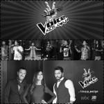 بالصور : رحلة المنافسة بين القيصر ونانسي عجرم وتامر حسني لإختيار أجمل صوت