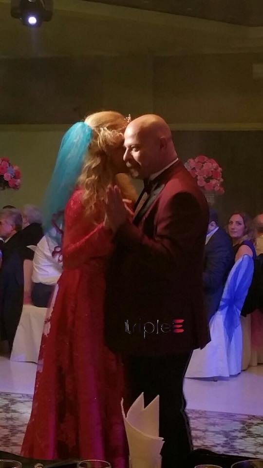 """عروسة تريبل إي قالت """"نعم"""" – ستايسي أفيديكيان تدخل قفص بديغ بيار أرابيان الذهبي"""