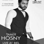 تامر حسني في لبنان في حفل غنائي لهذا الصيف