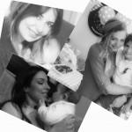 بالصور   ملكات جمال اصبحن امهات