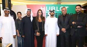 مجموعة تريبل إي | سمو الشيخ منصور بن محمد بن راشد ال مكتوم وفايز السعيد احتفلا مع هوبلو الشرق الاوسط في دبي