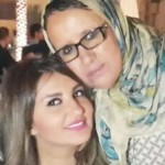 بالصورة | شذى حسون متعلقة بأهلها وأمها كاتمة اسرارها