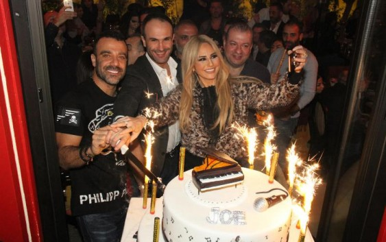 تريبل اي -بالصور  نجوم الفن والاصدقاء يحتفلون بعيد ميلاد الفنان جو أشقر