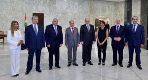 خلال زيارة القصر الجمهوري