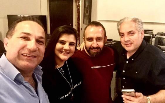 !سما وسط منير ابو عساف وسام الامير وبلال الزين فماذا هناك؟!