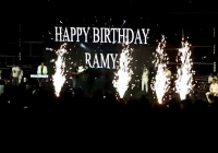 تغطية خاصة | إهمج تحتفل بعيد ميلاد رامي عياش أمام مئات المتفرجين