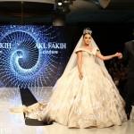 الفنانة ليال عبود عروسة مصمم الازياء عقل فقيه