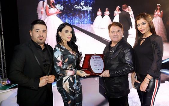 ليال عبود ضيفة شرف معرض رشيد كرامي الدولي