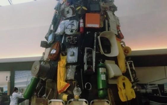 بعد البلبلة، بيان وقرار في ازالت شجرة الميلاد من مطار بيروت