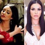 هل تقلد نجمة ستار اكاديمي سارة فرح ملكة جمال  لبنان السابقة الممثلة نادين نسيب نجيم؟