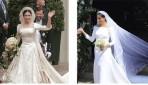 """هل فستان زفاف زوجة الامير هاري """"ميغان ماركل"""" شبيه فعلا بفستان الاميرة ماري ؟"""