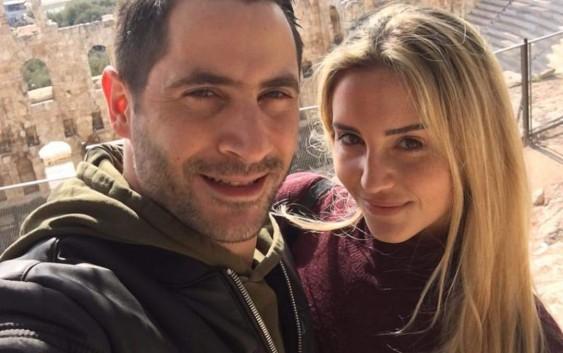 بالفيديو  الممثل عصام مرعب يتزوج من لورا طنوس والين لحود تغني في عرسهما