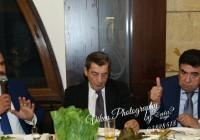 بالصور| رئيس بلدية باب مارع الدكتور سالم غنطوس يولم مأدبة عشاء على شرف دولة الرئيس إيلي الفرزلي