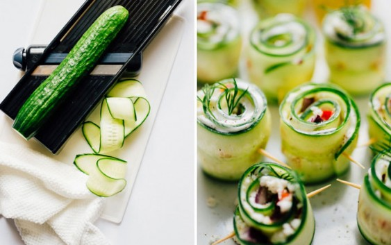 Greek  Sushi, healthy and perfect for summer