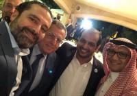 الخطيب يقيم مأدبة عشاء على شرف السفير احمد الشامسي