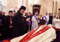 نقل مراسم دفن البطريرك مار نصرالله بطرس صفير