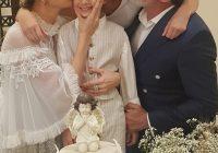 بعد سنين الطلاق طوني بارود وكرستينا صوايا يجتمعان