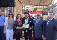 علاء زلزلي في مهرجان زهرة الوزاني:  ١من الحدود لن نرضى إلا بالنصر لفلسطين والجولان