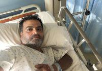 الممثل طوني نصير في المستشفى من جديد