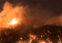 في لبنان حرائق متنقلة وسط العاصفة
