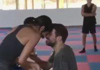 المنتج والمؤلف الموسيقي نبيل الخوري يطلب يد الممثلة زبنة مكة