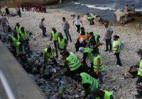حملة دفى بدأت ورشة التنظيف ونقلت النفايات لتدويرها قبل هطول الأمطار