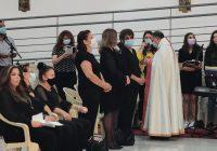 جناز الأربعين عن راحة نفس انطوانيت الياس حنين والدة الإعلامية ميراي صافي عيد